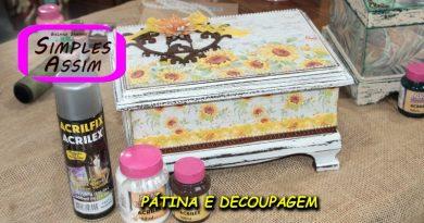 Pátina e Decoupagem