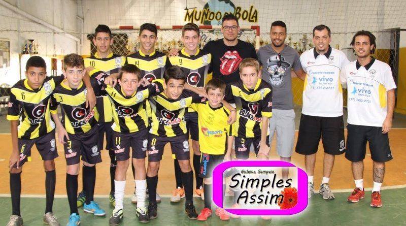 Paixão por futebol Matheus e Nino Santos