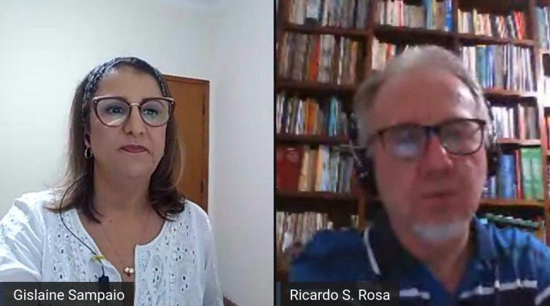 Ricardo Santaella e Gislaine Sampaio