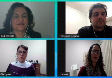 Francisco Rodrigues Neto, Luciana Andreo e Maura Guerreiro, diretora da APAE Catanduva.