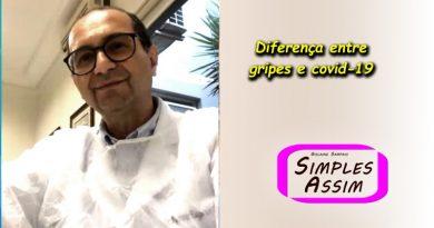 Dr Renato Macchione - Diferença gripes e covid-19
