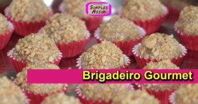 Brigadeiro Gourmet de Paçoca